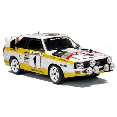 rally legends audi quattro  rc artr wd painted negozio  modellismo vendita