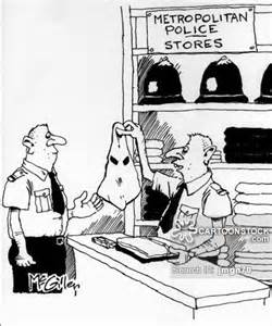 Racist Police Cartoon