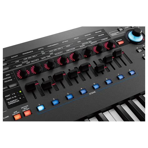 yamaha montage 6 yamaha montage 6 synthesizer at gear4music