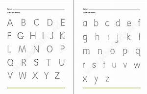 trace the alphabet printable sheets loving printable With traceable alphabet templates