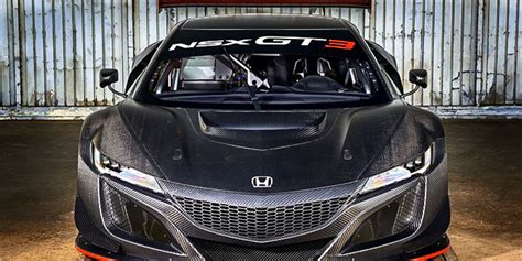 honda nsx gt racer readying  global assault