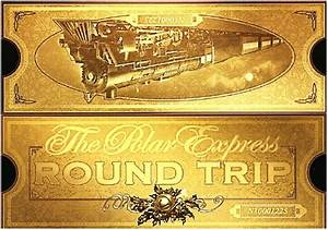 Gallery polar express clip art ticket for Polar express golden ticket template
