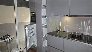 Granitplatte Küche Preis : nobilia musterk che grifflose k che mit granit ausstellungsk che in castrop rauxel von k b ~ Markanthonyermac.com Haus und Dekorationen