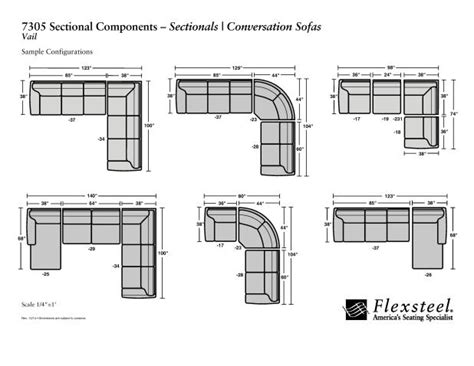 Sectional Sofa Sizes by How To Read The Dimensions Of A Sectional Sofa Www