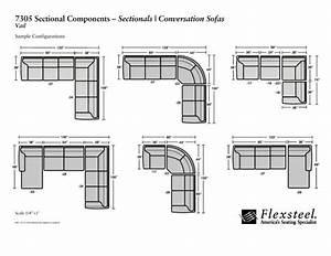 Dimension Chaise Standard : how to read the dimensions of a sectional sofa ~ Melissatoandfro.com Idées de Décoration