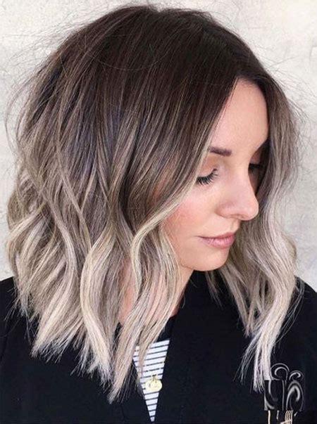 die besten  haarschnitte mittlerer laenge frisuren