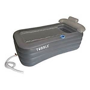 tubble inflatable bathtub adult size portable home spa