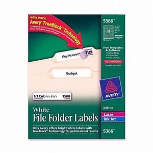 avery 5366 white file folder labels nordiscocom With avery file folder labels 5366