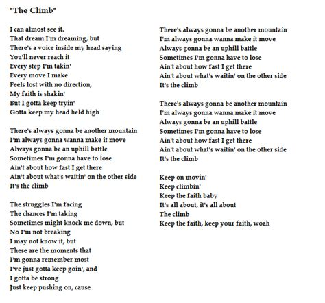 the climb from montana the sheet by song the climb writer and jon mabe