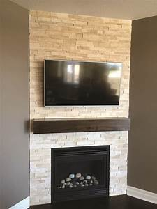 Gorgeous, Tile, Fireplace, Makeover, Ideas, Tips, For, 2019