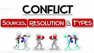 CONFLICT | Meaning | Sources | Resolution techniques ...  Conflict