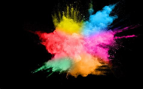 Abstract Black Color Backgrounds by Wallpaper Colorful Smoke Splash Abstract Black