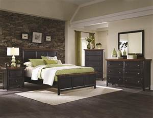 Coaster 203151KW Black California King Size Wood Bed