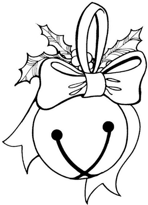 christmas bells coloring pages    print