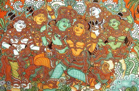 kerala mural artists kerala mural painting pictures studio design gallery