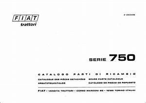 Fiat 750 Service Parts Catalog Download In 2020