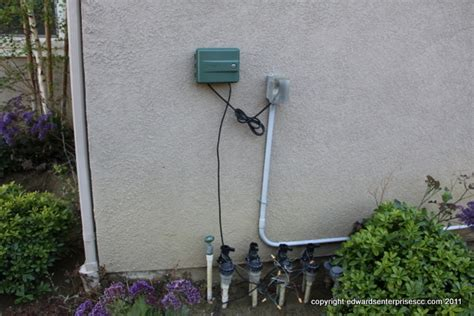 how to put outdoor lights on a timer sprinkler and lighting timers installed and replaced in