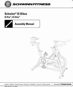 Schwinn Ic Elite Assembly Manual