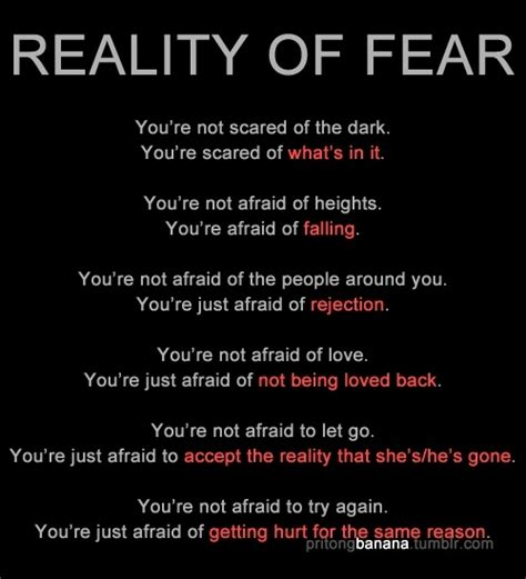 not being scared quotes image quotes at hippoquotes com
