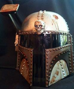 Steampunk Stormtrooper And Boba Fett Star Wars Helmets