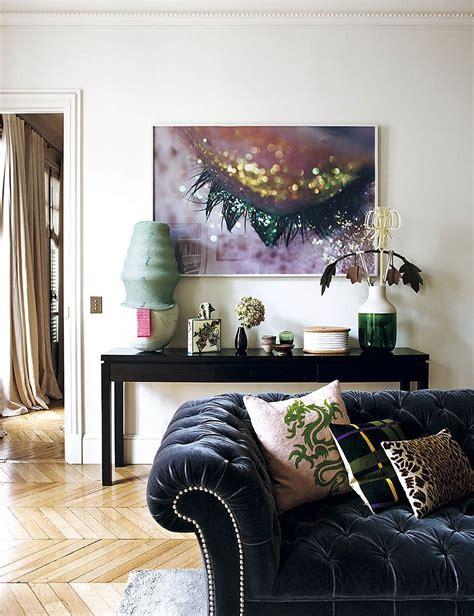Parisian Home Decor - decorating parisian style chic modern apartment by