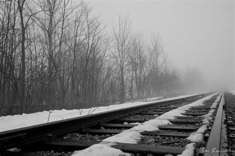 don komarechka photography barrie ontario foggy tracks