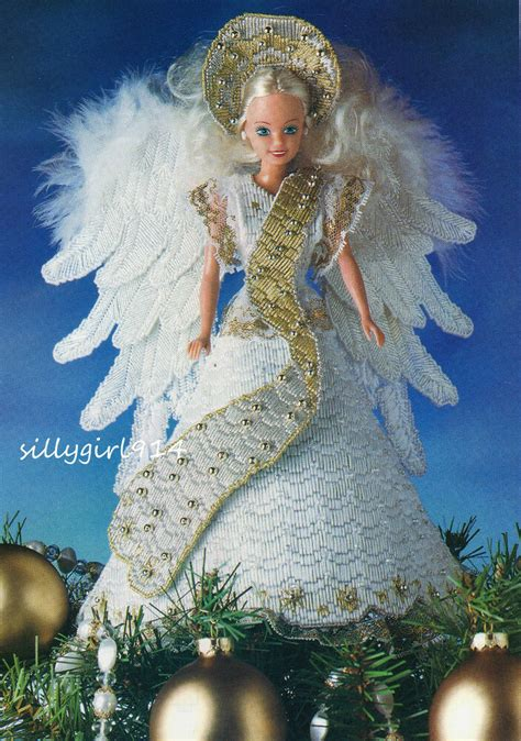 angel tree topperplastic canvas pattern  fits