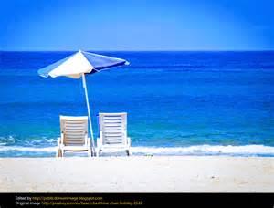 Public-Domain Beach Chair