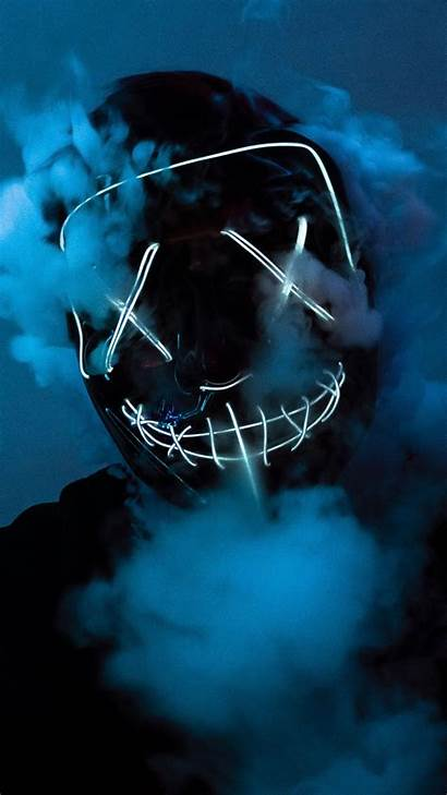 Purge Iphone Wallpapers Led Mask 5k