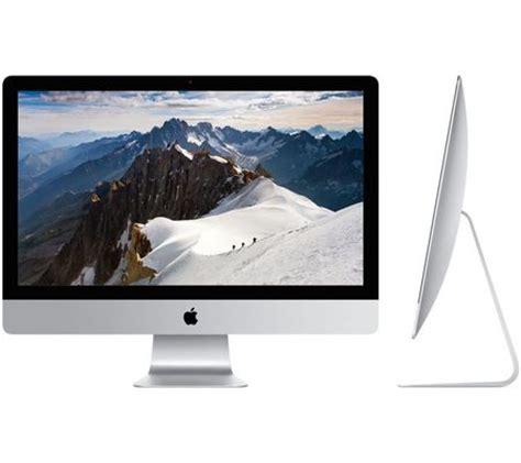 ordinateur de bureau 27 pouces apple imac 27 pouces retina 2015 test complet