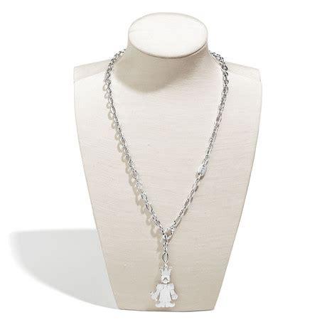 catena pomellato pendente con catena pomellato argento collection