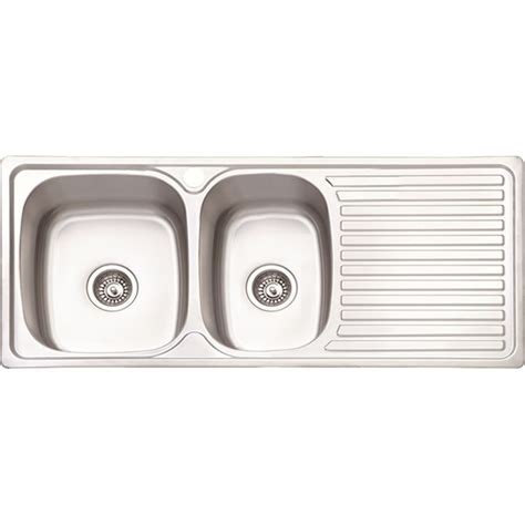 single bowl kitchen sink with drainer bowl single drain nafuu classic hardware 9306