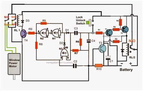 How Build Car Power Window Controller Circuit Part