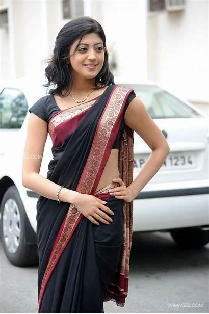 Pranitha Subhash Saree Wallpapers Latest Actress South