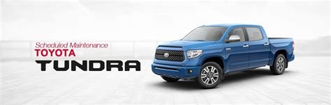 Toyota Service Schedule by Toyota Tundra Scheduled Maintenance South Dade Toyota Of