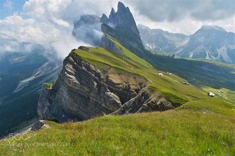 mountain range between and italy photograph dolomites by angelo ferraris on 500px
