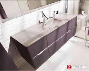 vente meubles de rangement pour salle de bain casablanca With casa meuble de salle de bain