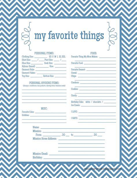 my favorite things list template le cortan los dedos y lo decapitan newhairstylesformen2014