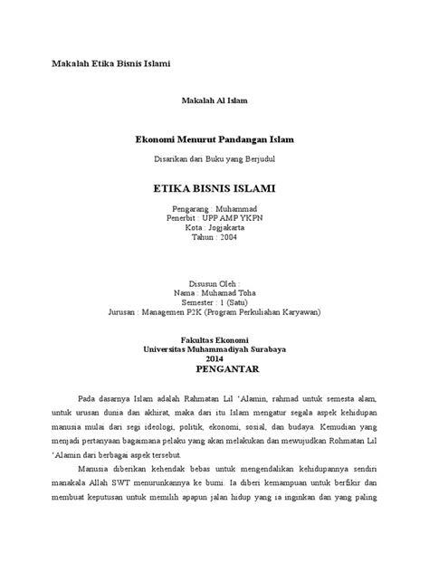 Makalah Etika Bisnis Islami.docx