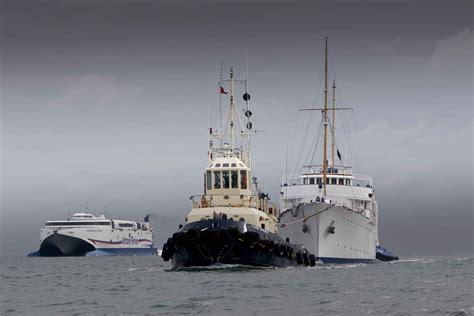 shemara yachts refit supported  burgess marine