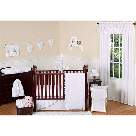 Fresh ideas sweet jojo crib bedding. Sweet Jojo Designs Eyelet Crib Bedding Collection in White ...