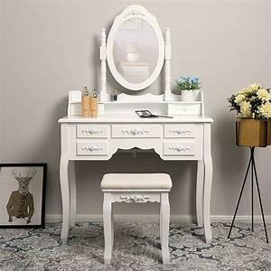 Table De Maquillage Ikea : 10 muebles tocadores con espejo para todos los espacios y estilos ~ Nature-et-papiers.com Idées de Décoration