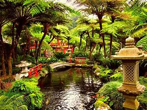 Japanese Garden Wallpapers ·①