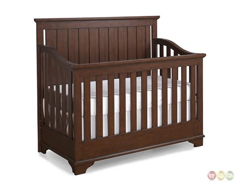 s convertible crib dawsons ridge heirloom cherry convertible crib