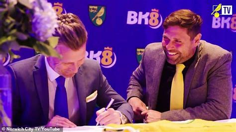 Norwich force new shirt sponsor BK8 to remove adult ...