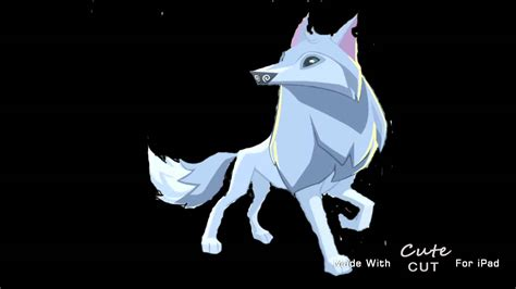draw  arctic wolf animal jam style