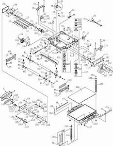 Dewalt Dw735 Portable Thickness Planer Parts  Type 1  Parts