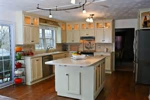 Kitchens With Dark Cabinets And White Countertops by Buying Off White Kitchen Cabinets For Your Cool Kitchen