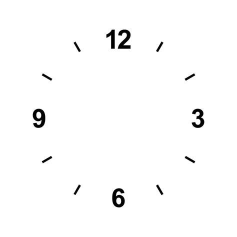 Uhr Nur Zeiger by Uhr Zum Ausdrucken Kinderbilder