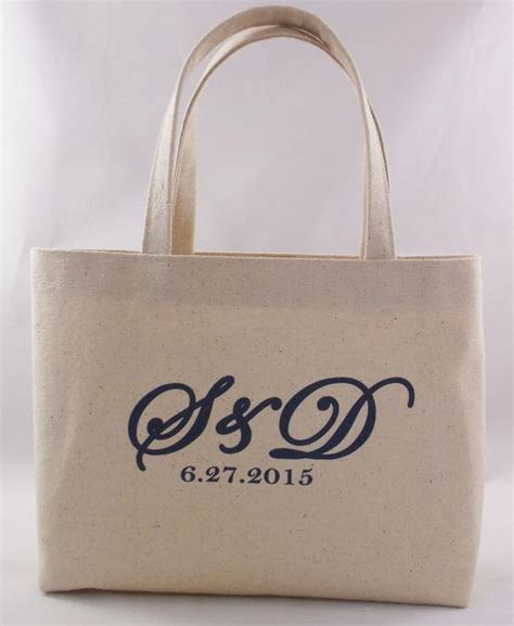 bag mini tote wedding monogram wedding  irongrillers